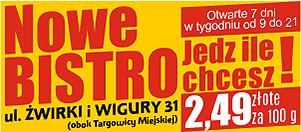 Bistro Kastel w Oświęcimiu - Zaprasza